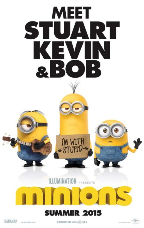 MINIONS, US advance poster, 2015. ©Universal Pictures